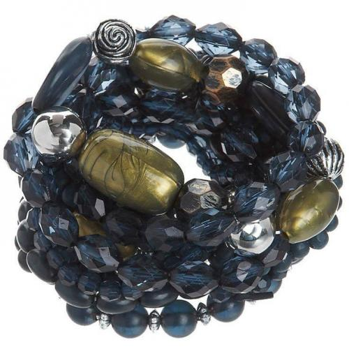 Pieces Sigga Bracelet Armband mid blue