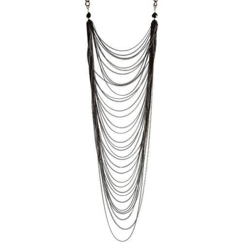 Rosantica Millifili Halskette Messing / 24 Karatgoldbeschichtet
