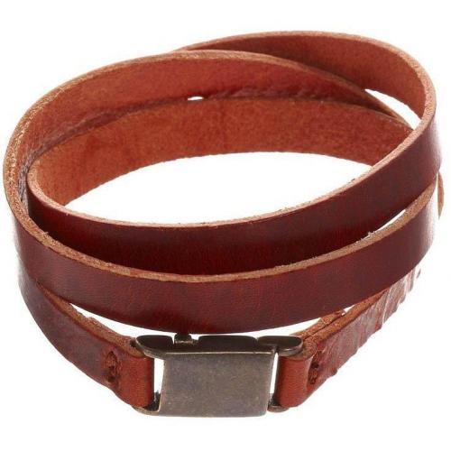 Royal Republiq Armband cognac Magnetclipverschluss