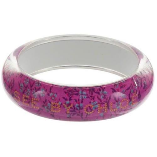 See by Chloé Armband fuxia blossom print