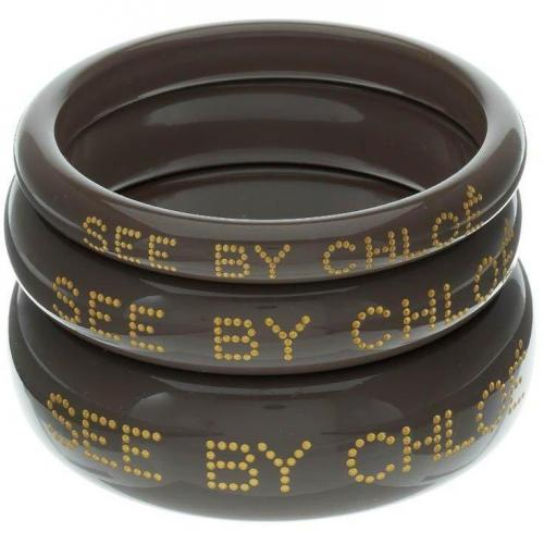 See by Chloé Set Of 3 Armband taupe