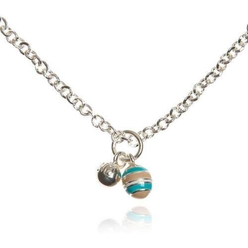 SNÖ of Sweden Halskette mehrfarbig/silber