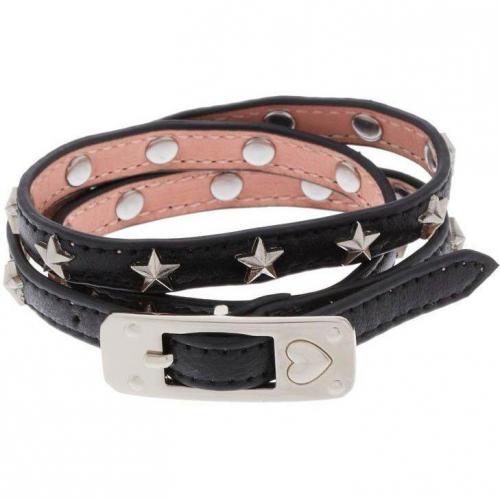 Stylesnob Armband black Sternenapplikation