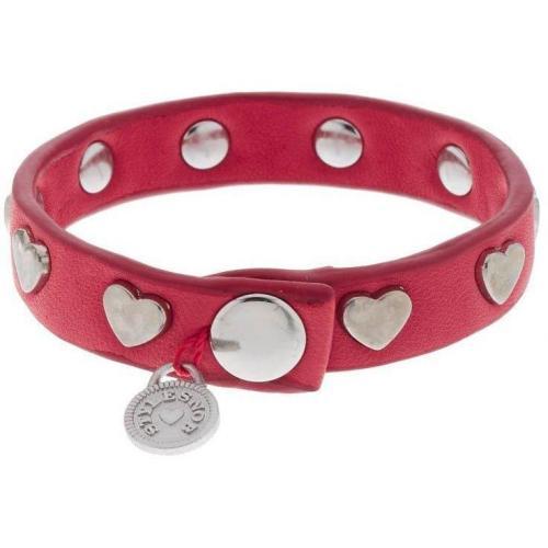 Stylesnob Heartbeat Armband red