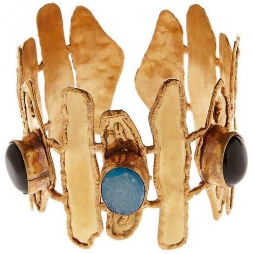 Sylvia Toledano Vague Armband multicolor besetzt mit
