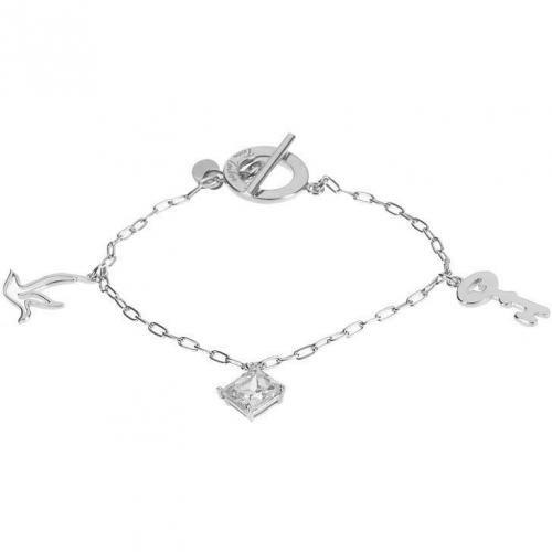 Tom Tailor Armband silver feingliedrige Ankerkette