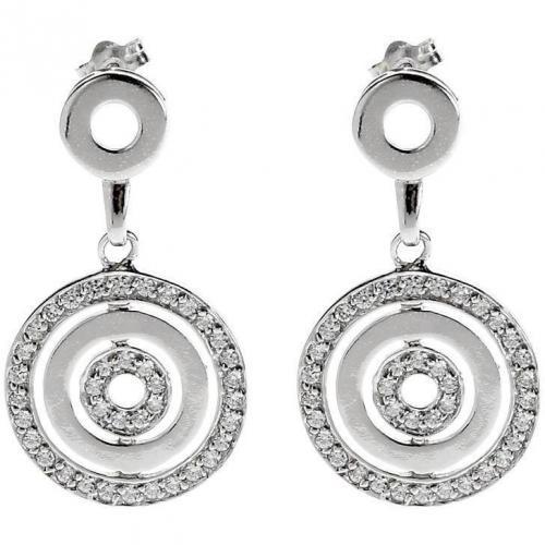 Tom Tailor Ohrringe silver klassisches Design