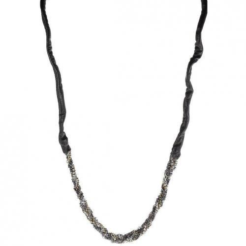 Tree Halskette black ohne Verschluss