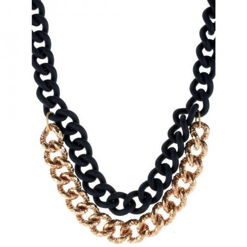 Vanessa Baroni Halskette dunkelgrün
