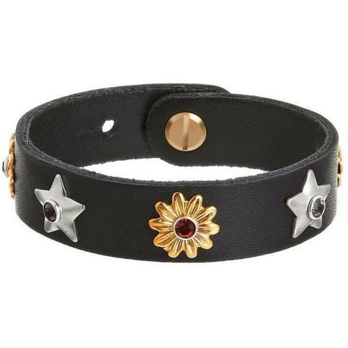 Vanzetti Armband schwarz 2 Verschlussweiten 17,5/ 19, cm Länge