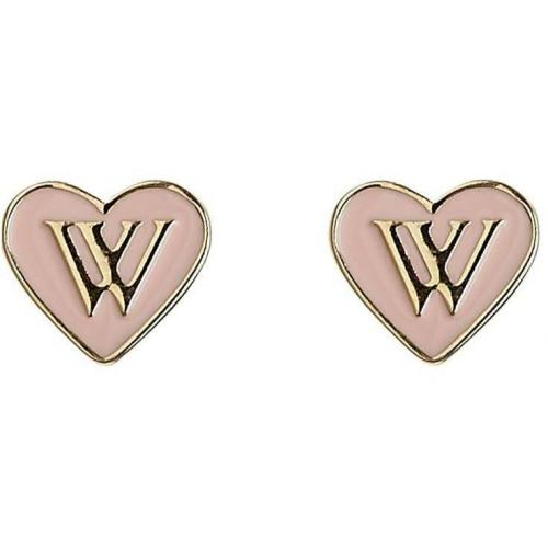 Wildfox Heart Ohrringe goldpink