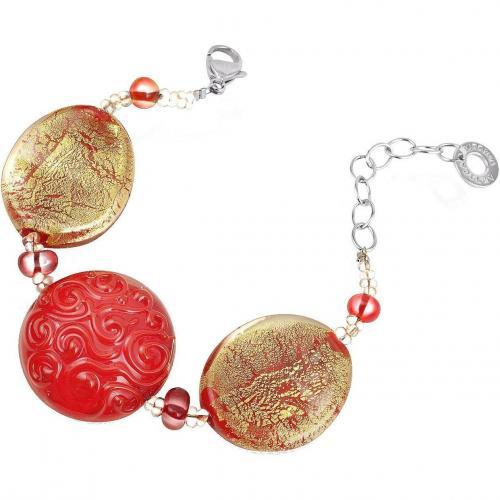 Antica Murrina Veneziana Caprice Armband mit Muranoglasperlen