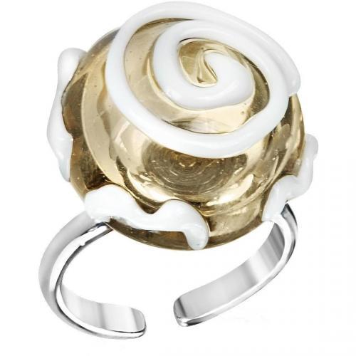 Antica Murrina Veneziana Mignon Ring aus Muranoglas