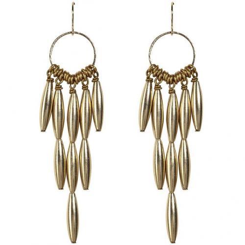 Aris Geldis Gold Cluster Ohrringe