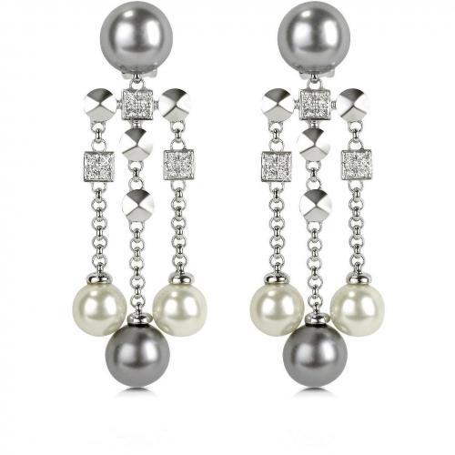 AZ Collection Ohrclips mit Glasperlen