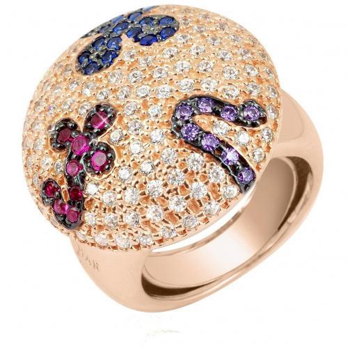 Azhar Fashion Ring in bunt