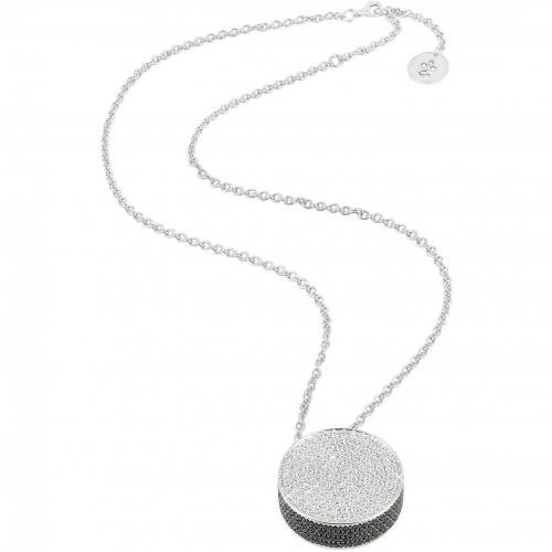 Azhar Halskette mit rundem Anhänger