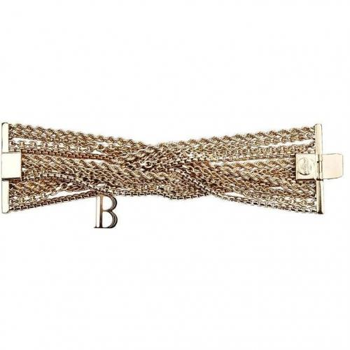 Balmain Gold Twisted Curb Chain Armband