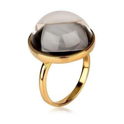 Bibi Van Der Velden Kristall Ring