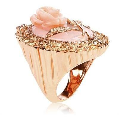 Bliss Rose Augustinr Agate Ring