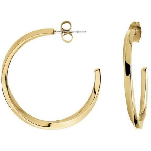 Calvin Klein Damen-Ohrringe Gold