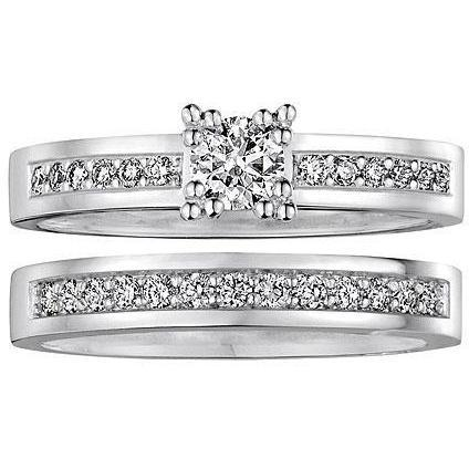 Christ Love Diamonds Damenring-Set