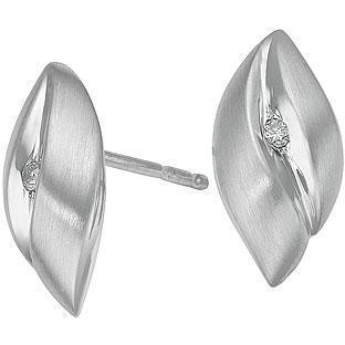 Christ Silver Diamonds Ohrstecker