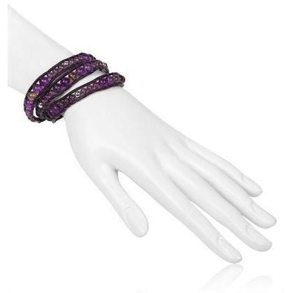 Colana Casual Armband violett