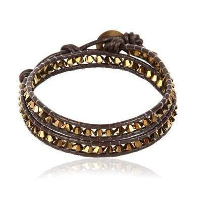 Colana Sparkling Armband brown