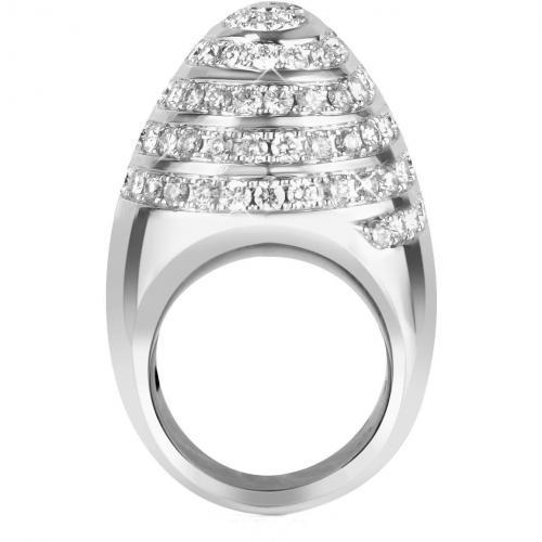 Colucci Diamonds Galaxy Ring aus 18k Weißgold mit Diamanten