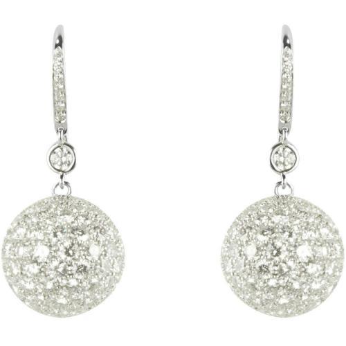 Colucci Diamonds Ohrringe aus Weißgold mit Diamanten besetzt