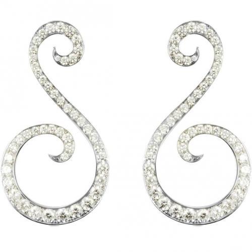 Colucci Diamonds Pegasus Ohrringe aus Weißgold mit leuchtenden Diamanten
