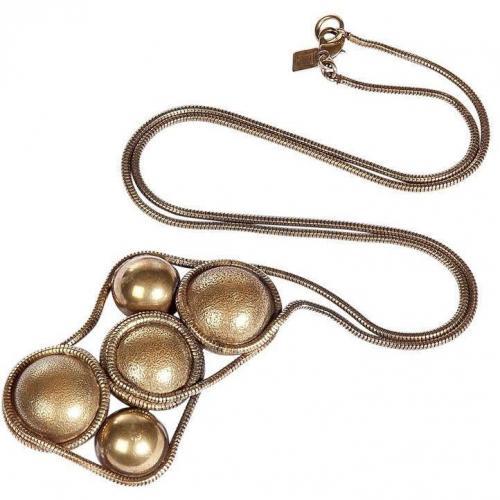Dannijo Brass Art Halskette