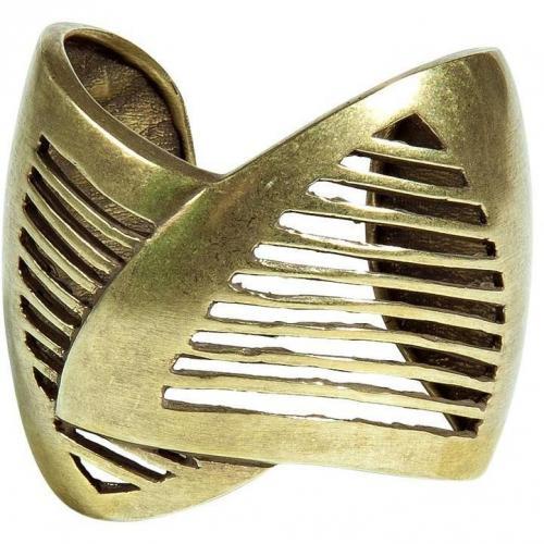 Dannijo Oxidized Brass Plated Minetta Cuff