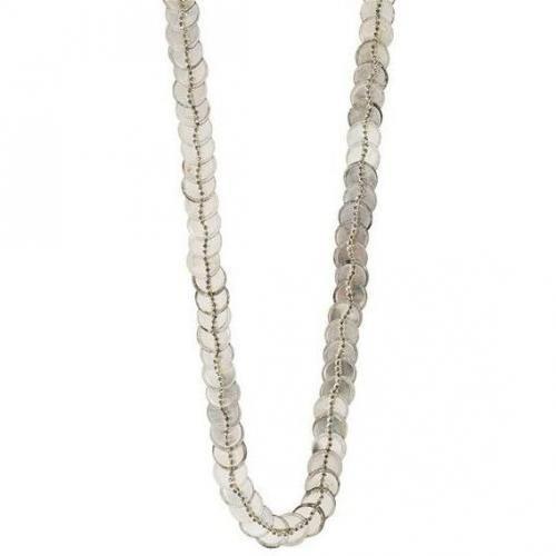 Deepa Gurnani Kette silver