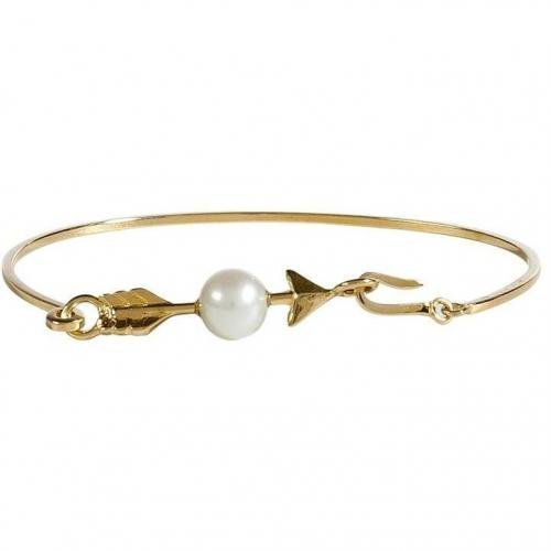 Delfina Delettrez Gold/Pearl Cupid Armband