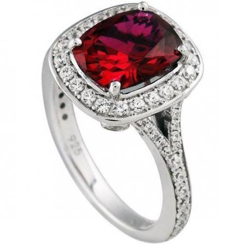 Diamonfire Ring oval rot