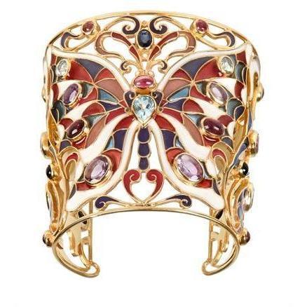 Diego Percossi Papi Einstellbares Schmetterling Armband