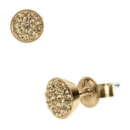 DKNY Damen-Ohrringe Gold