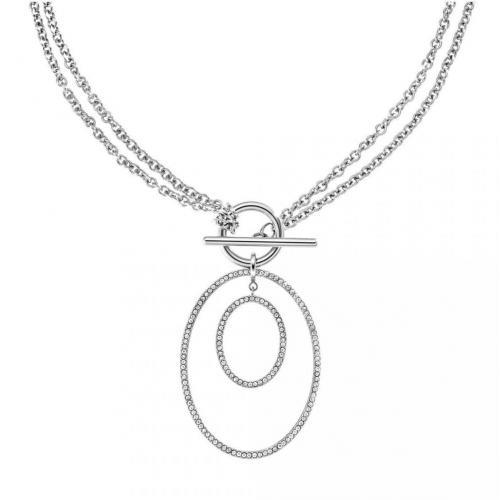 DKNY Halskette für Damen mit Ovalen