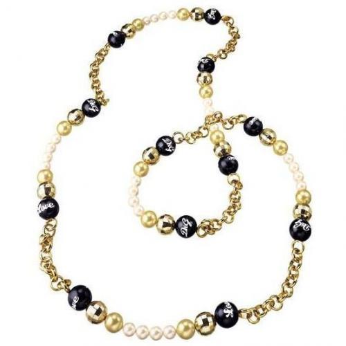 Dolce & Gabbana Round Love Perlen-Collier