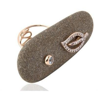 Dolly Boucoyannis Stars on Sand Ring big stone