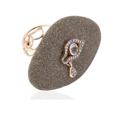 Dolly Boucoyannis Stars on Sand Ring stone Auge mit Träne
