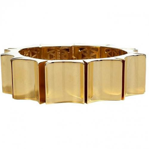 Eddie Borgo Gold Small Wave Armband