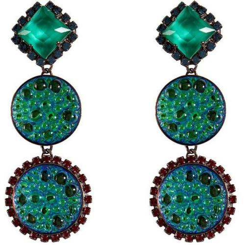 Erickson Beamon Atlantis Iridescent Green Garden Party Ohrringe
