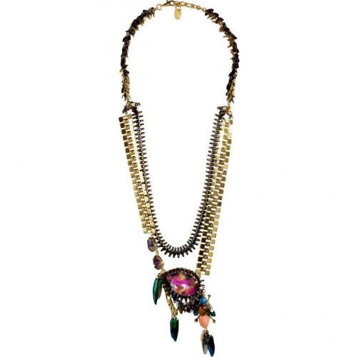 Erickson Beamon Gold-Plated Aquarela Do Brasil Halskette