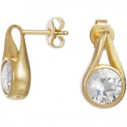 Esprit Glamour Solitaire Gold Damen-Ohrringe