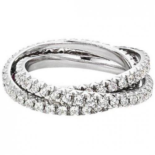 Esprit Ring Brilliance Tripple Zirkonia