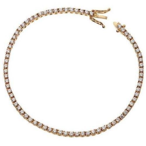 Fabiani Armband Sterling Silber 925 vergoldet Zirkonia