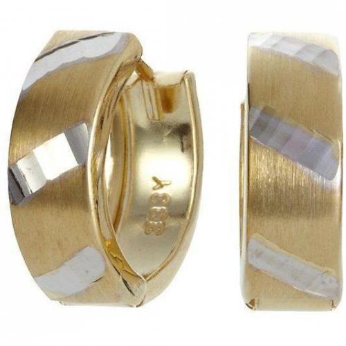 Fabiani Creolen Gold 333 bicolor